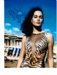 Martine Beswick signed 10 by 8 star of Hammer & Bond #4